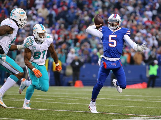 It's another big year for Tyrod Taylor as he tries to establish himself as Buffalo's long-term answer at quarterback.