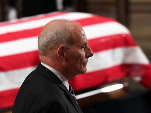 Donald Trump names John Kelly new Chief of Staff, replaces
