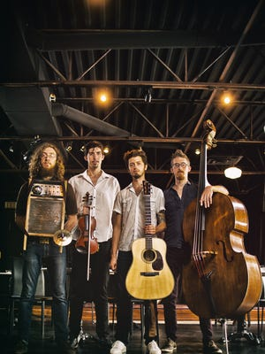 The Appleseed Collective takes the stage Wednesday, Aug. 10 at Crash Music at the Aztec Theater.