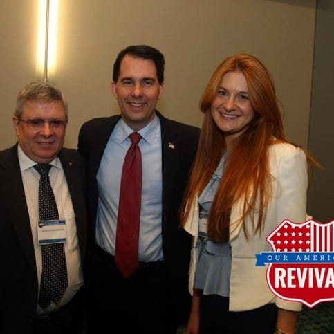 Scott Walker met with woman now charged in Russian plot during his presidential bid