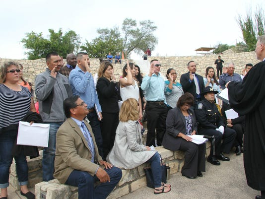 Carlsbad naturalization ceremony