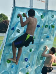 The Boys & Girls Club of Chambersburg helped Chambersburg Rec Dept. test the new Chambersburg Aquatic Center on Wednesday, May 23, 2018.