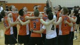 Cole Johnson smashed a game-high 17 kills to help lead Central York to the regular-season YAIAA crown May 11, 2017.