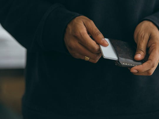 The Light phone is designed to be used as little as possible. It can dial out, plus receive forwarded calls from a user's smartphone without a screen, texting or apps — and is roughly the size of a credit card.
