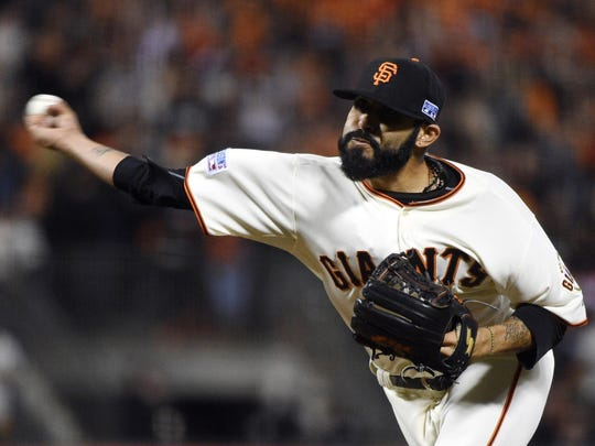 San Francisco Giants relief pitcher Sergio Romo was a 2013 NL All-Star.
