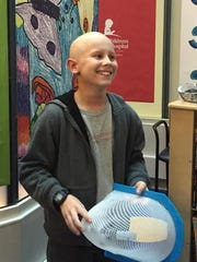 Daniel Burgess, 11, was diagnosed with medulloblastoma Aug. 9.