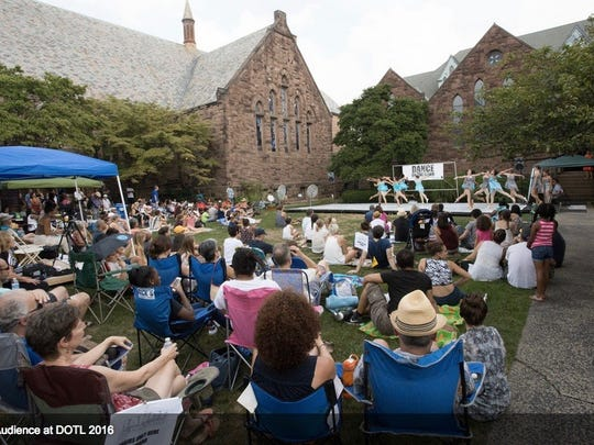 The Dance on the Lawn festival will happen on Sept. 9 on the front lawn of St. Luke's Episcopal Church in Montclair.