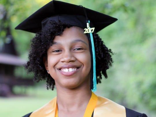 LeAerialle White, valedictorian of Trinity Christian