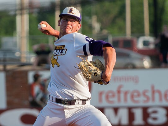 LSU Eunice pitcher Zach Hester has been named Division