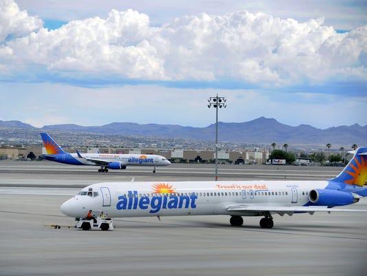 Allegiant Air jets