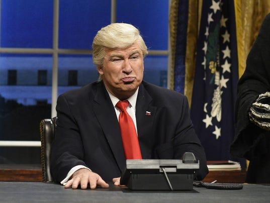 AP TV TRUMP LATE NIGHT A ENT USA NY
