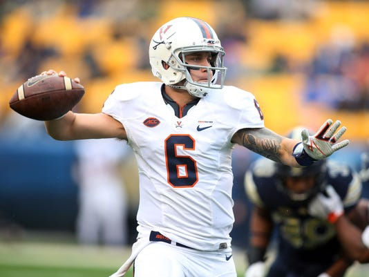 NCAA Football: Virginia at Pittsburgh