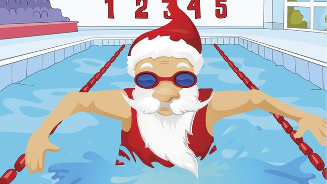 Cumberland Cape Atlantic YMCA will host a Swim with Santa celebration for families from 6:30 to 8 p.m. Dec. 8 at 1159 E. Landis Ave., in Vineland.