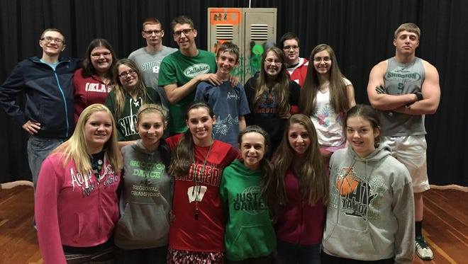 "Shiocton High School students will perform ""The High-Schooler's Guide to the Galaxy"" May 16."