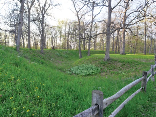 Mounds State Park, Anderson, Ind. (Provided by Indiana
