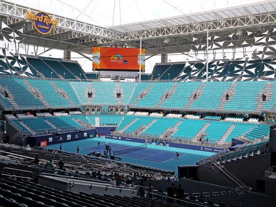 cd18fc16 Miami Open tennis tournament moves to Dolphins' NFL home