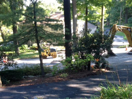 Wyndham Hills residents have seen a lot of gas line work this year, and they're hoping Columbia Gas will replace the old pipes that are causing problems.