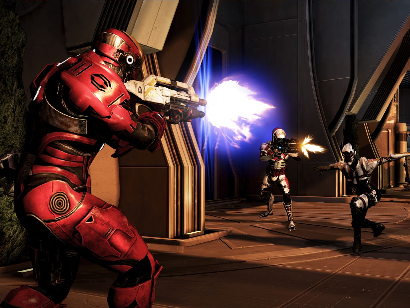 A scene from 2012's Mass Effect 3.