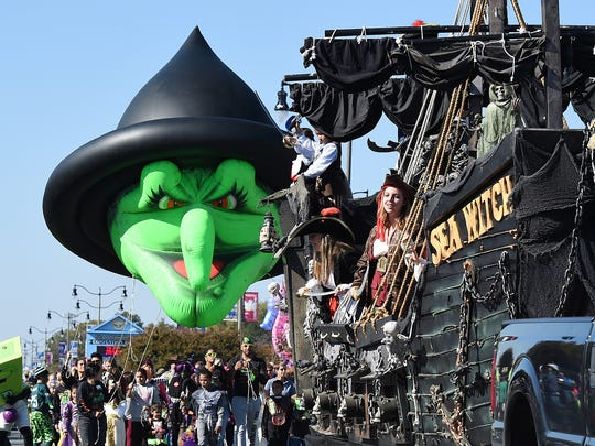 Rehoboth Beach's 25th Annual Sea Witch Festival was held in Rehoboth Beach on Saturday, Oct. 25.