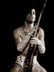 "Prince as seen on the ""Purple Rain"" tour."