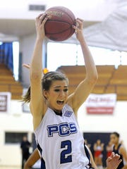 The Presbyterian Christian girls basketball team, led by standout junior Trista Magee, won the MAIS Overall Tournament as well as the Class AAA MAIS Championship.