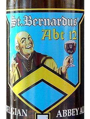 St. Bernardus Abt 12 from Brouwerij St. Bernardus in  Watou, Belgium, is 10% ABV.