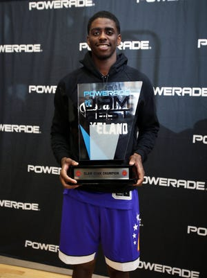 Dwayne Bacon, who won the dunk contest at the 2015 McDonalds all-American game, leads Floriday State in scoring.