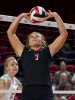 WKU Lady Toppers setter Jessica Lucas