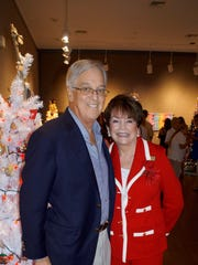 Michael and Rosemary Wick, arts center president.