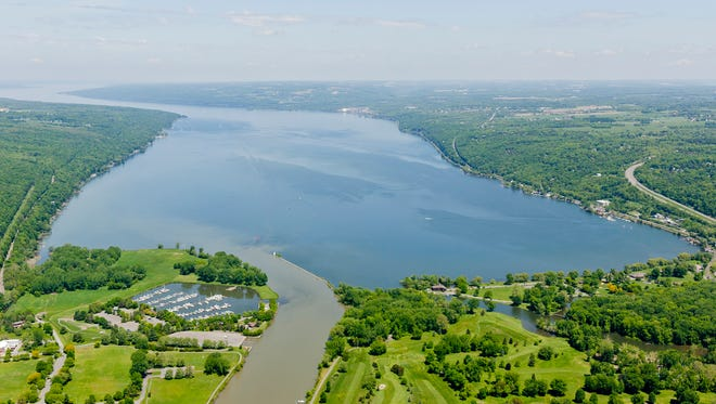 Cayuga Lake.