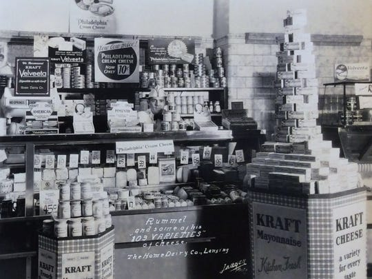 Home Dairy Company of Lansing, undated photo.
