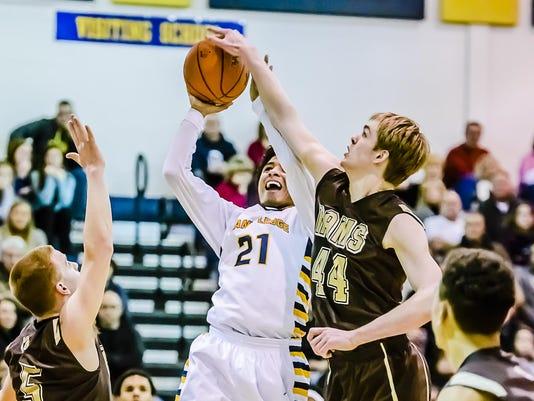 Holt vs Grand Ledge Basketball