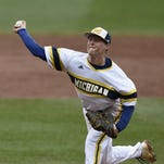 St. Clair's Jake Cronenworth while playing for U of M.