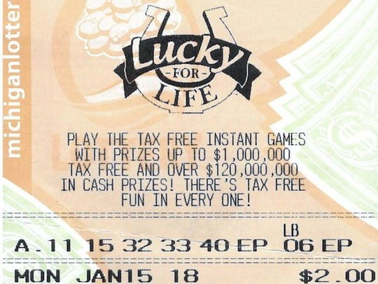 Kenneth Overholser's winning Lucky For Life lottery