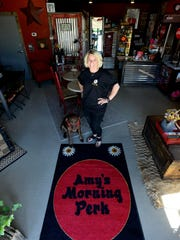 Amy Roberts, owner of Amy's Morning Perk, has opened