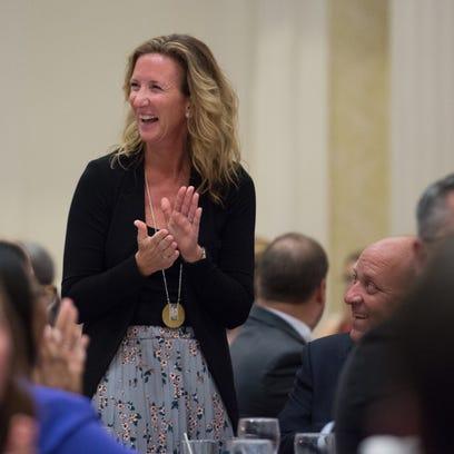 Sussex Tech teacher Virginia Forcucci named Delaware's 2018 Teacher of the Year