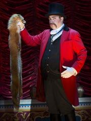 John Rapson as Lord Adalbert D'Ysquith in a scene from