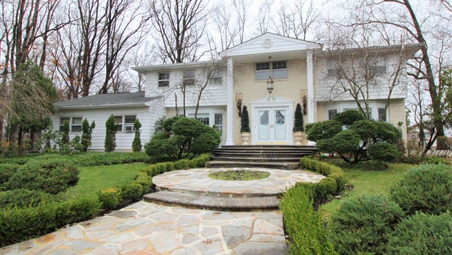 """This """"Versailles"""" Colonial at 44 Woodmere in the Hidden Lake neighborhood of North Brunswick will be open from 1 to 4 p.m. on Sunday, March 20."""