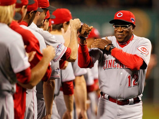 Dusty Baker was named manager of the year three times.