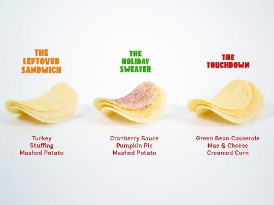 Kellogg's has launched a line of Thanksgiving-themed flavors for Pringles.
