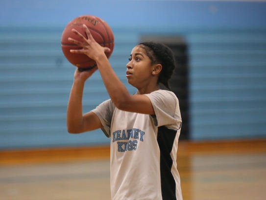 Freshman guard Marianna Freeman averages 12.7 points, 3.7 steals and 3.7 assists for Bishop Kearney.
