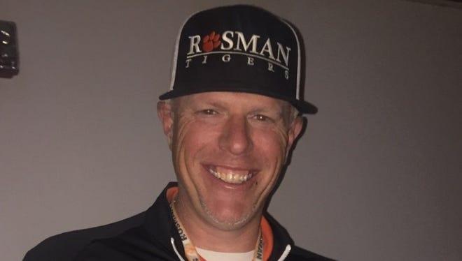 Rosman athletic director Todd Anderson.
