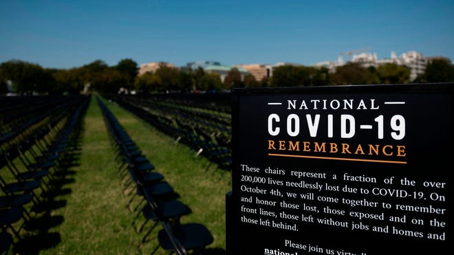 National COVID-19 Remembrance on Oct. 4, in Washington, D.C.