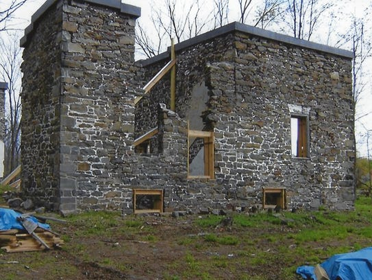 A stabilization project took place to preserve the