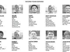 Second team all city/county football