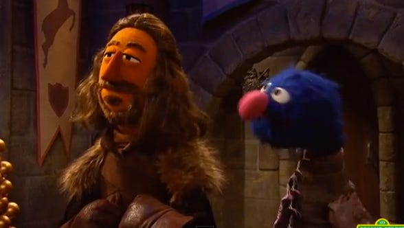 'Sesame Street' took on 'Game of Thrones' with great parody.