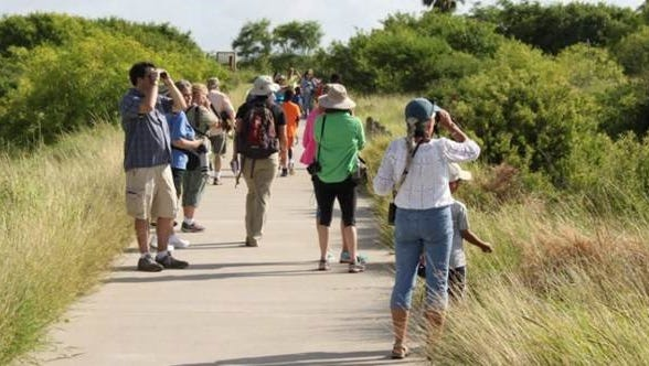 The Walk Across Texas fitness challenge will kick off at 8:30 a.m. Saturday, March 11, at the Oso Bay Wetlands Preserve.