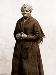 Harriet Tubman's homestead in Auburn, Cayuga County,