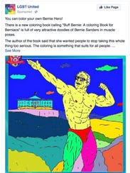 An ad placed on Facebook on March 24, 2016 by Russian-linked