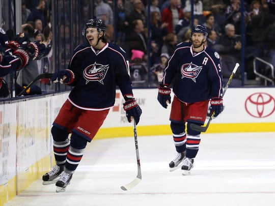 Ryan Johansen scored a career-high 33 goals for the Columbus Blue Jackets during the 2013-14 season.
